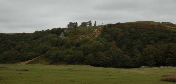 Pennard Castle 1